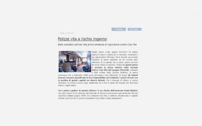 Intervista all'avv. Paolo Righini: «Polizze vita a rischio inganno»