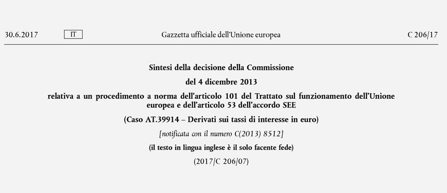 Mutui e finanziamenti a tasso variabile indicizzato all'Euribor:
